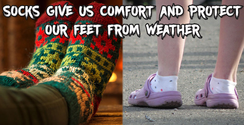Socks in Winter and Summer